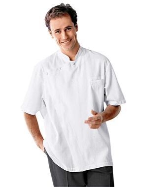 Short Sleeved Gerard Chef Jacket