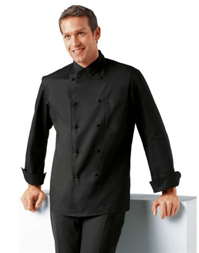 Black Chef Jacket Jolione