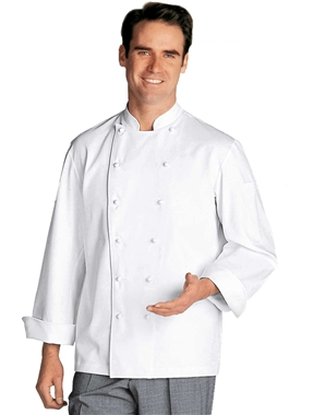 Navalie Chef Jacket in 100% Twill Cotton