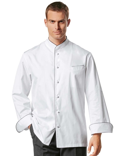 Peter Chef Jacket in 100% Long Fiber Egyptian Cotton