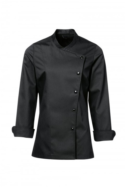 Julia Womens Chef Jacket black