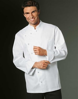 Antoine Chef Jacket in 100% Long Fiber Pima Premium Cotton, the finest cotton in the world!