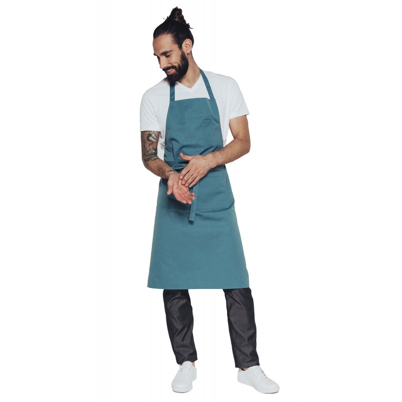 Grey Chef Apron Ceylany