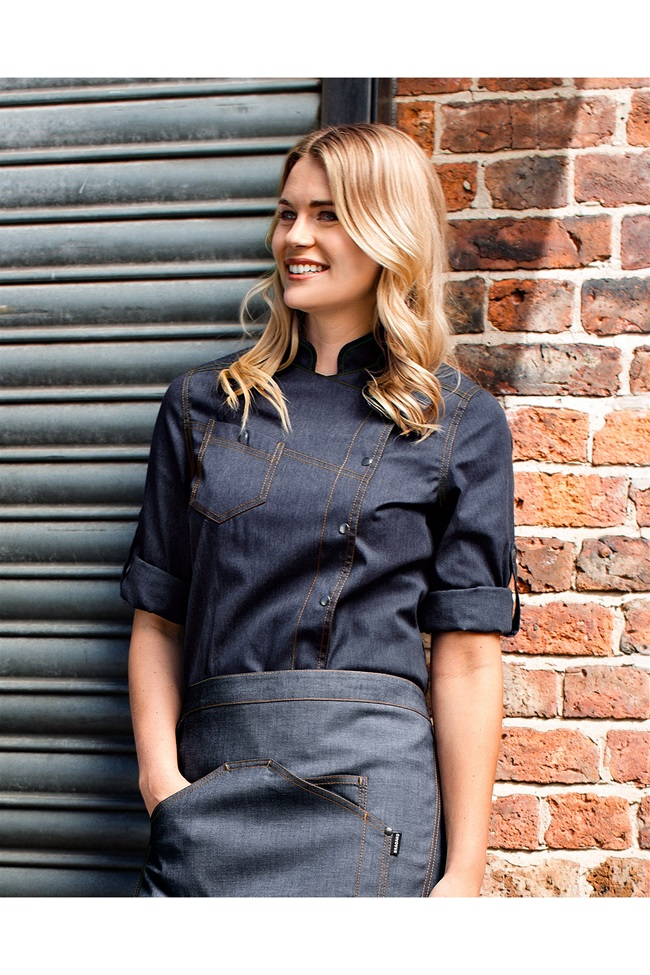 Women's chef coats fitted